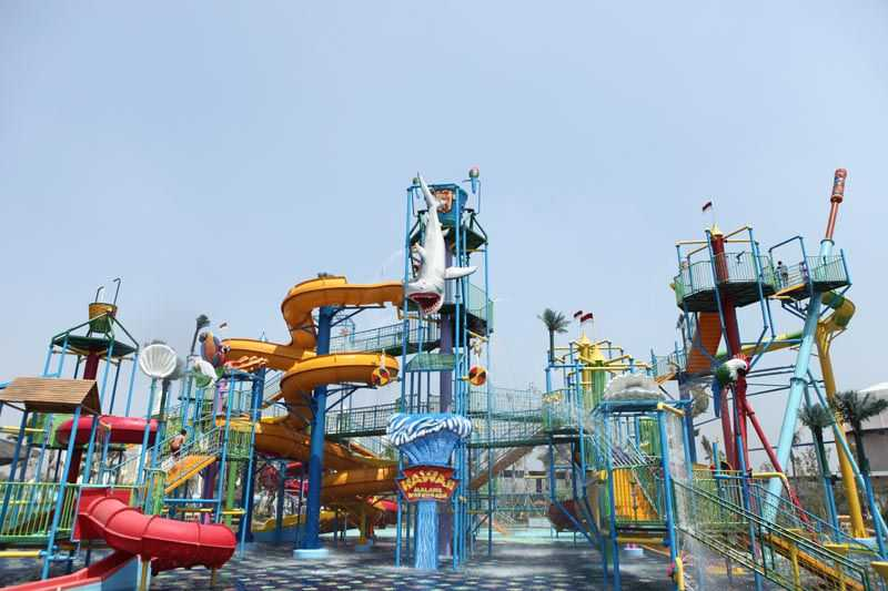 Hawaii Waterpark Wisata Air Malang